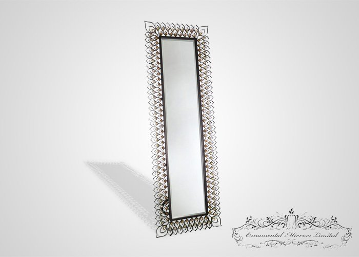 Metal Full Length Free Standing Mirror