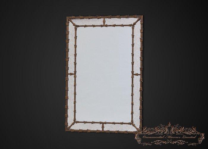 antique cheval floor mirror