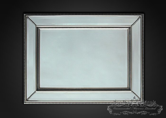 Silver Mirror Wall Photo Frame: Decorative Wall Mirror From Ornamental Mirrors Limited