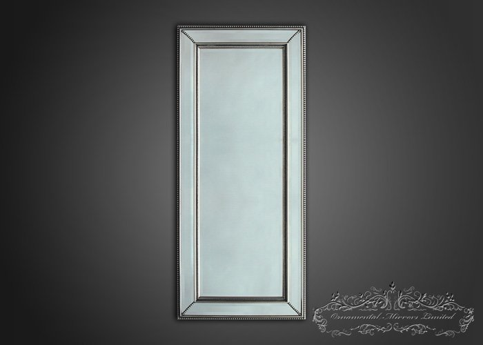 Decorative wall mirror from ornamental mirrors limited for Long decorative wall mirrors