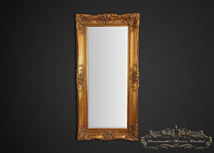 Large Gold Framed Mirror From Ornamental Mirrors Limited