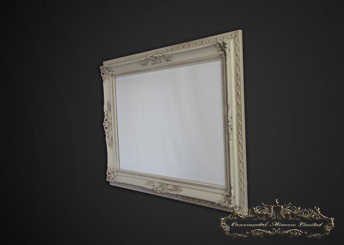 Cream Ornate Wall Mirror