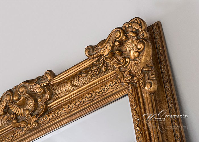 Colossus Extra Large Gold Mirror
