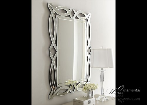 Denise Venetian Glass Mirror