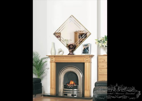 Cullinan gold decorative wall mirror