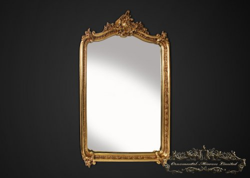 Edward Antique French Gold Mirror