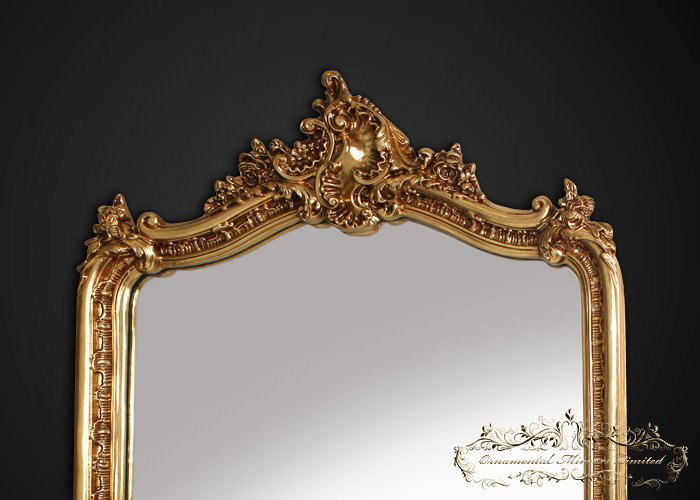 antique gold mirror french Antique French Gold Mirror antique gold mirror french