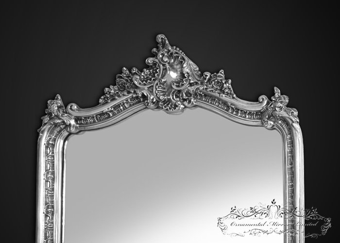 French Style Silver Mirror
