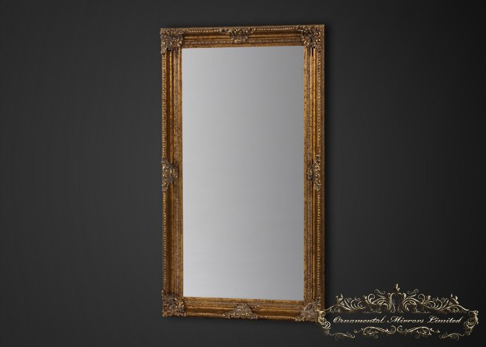 Extra large gold mirror extra large antique mirror for Extra large mirrors