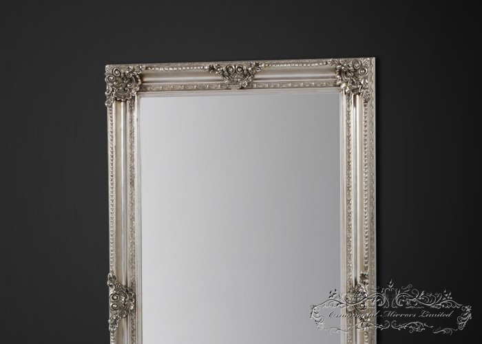Extra large silver mirror extra large mirror for Large silver wall mirror