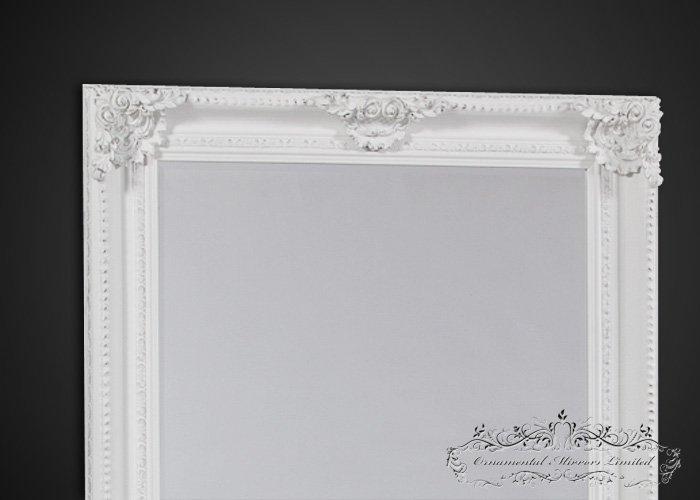 Extra Large White Mirror Ornate White Mirror
