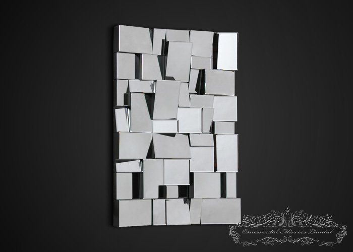 Multi Faceted Wall Mirror