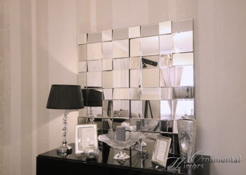 Fracture Multi Faceted Wall Mirror