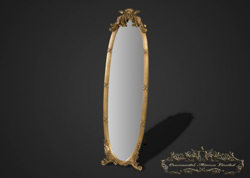 French Gold Dressing Mirror