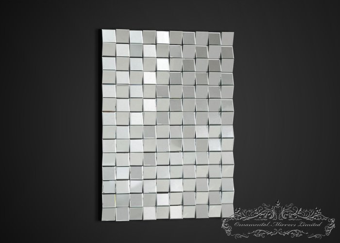 Multi Facet Wall Mirror