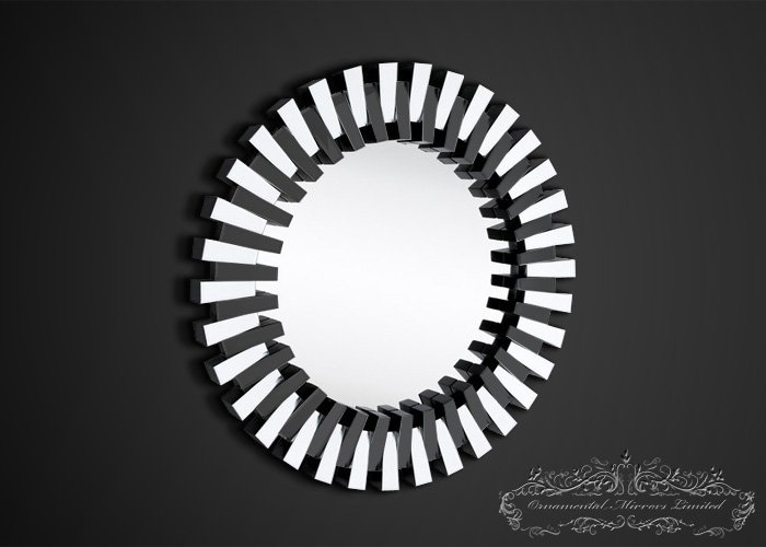 Round glass wall mirror for Glass and mirror company
