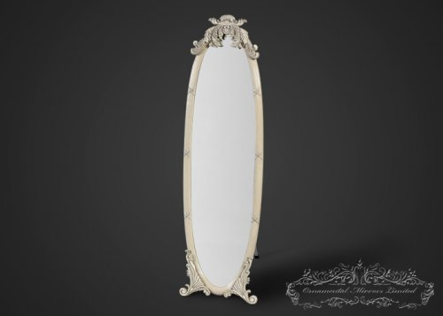 Ivory French Dressing Mirror