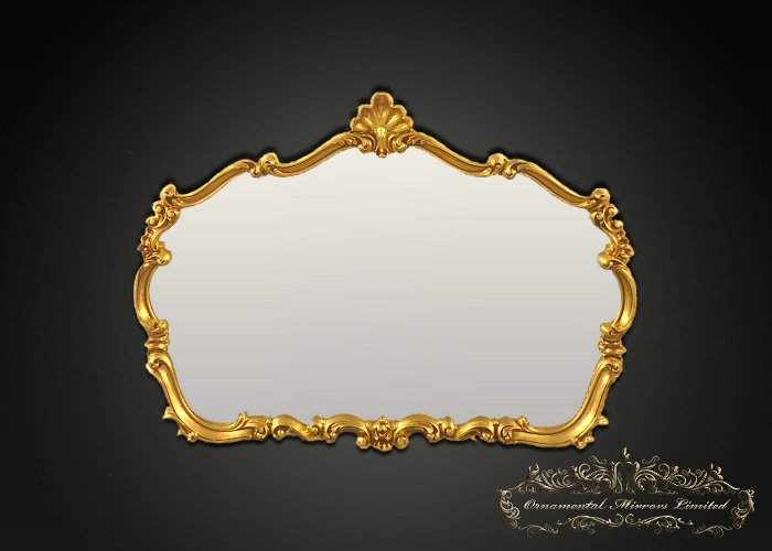 Traditional Ornamental Gilt Mirror From Ornamental Mirrors