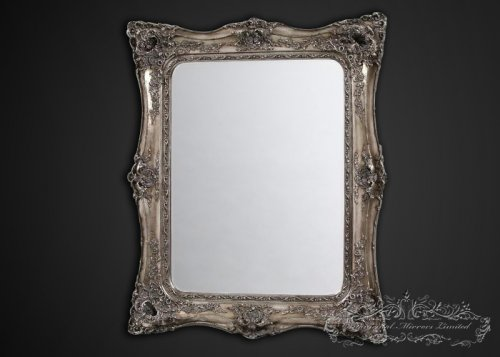 Full length mirrors for Floor mirror italian baroque rococo style in lacquer finish