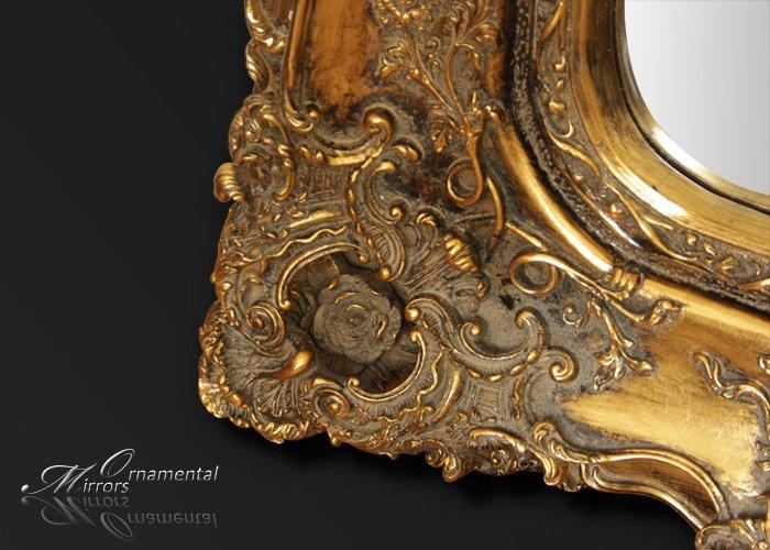 Opulance Gilt Rococo Mirror