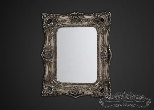 Large mirrors large decorative mirrors for Floor mirror italian baroque rococo style in lacquer finish