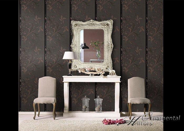 Opulance Cream Rococo Mirror