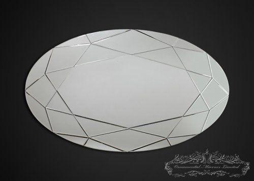 Paragon Glass Oval Wall Mirror