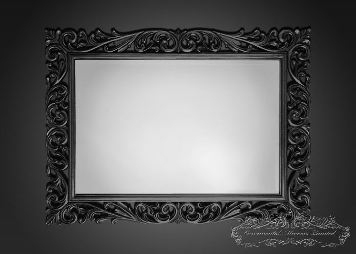 Black Ornamental Mirrors From Ornamental Mirrors Limited