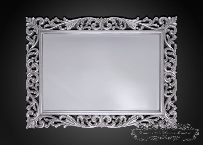 Silver Ornamental Mirrors From Ornamental Mirrors Limited
