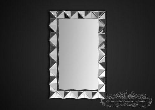 Pyramids Multi Faceted Wall Mirror