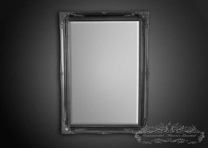 Black French Mirror From Ornamental Mirrors Limited