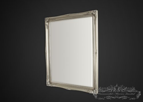 Simple classic silver French  mirrors