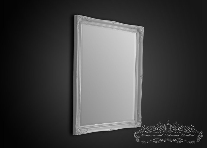 French White Mirror From Ornamental Mirrors Limited