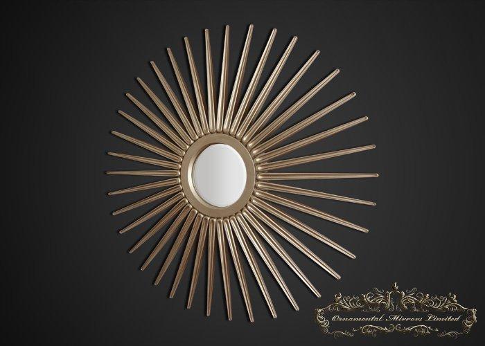 Starburst Mirror Champagne Starburst Mirror