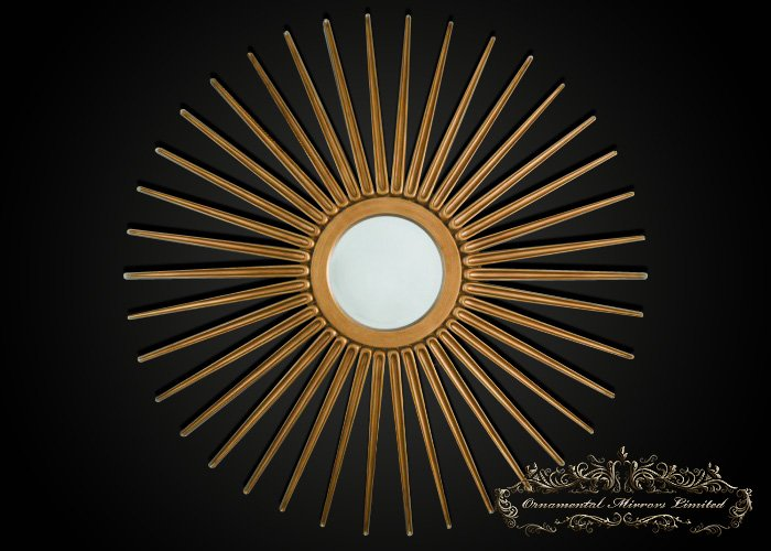 Gold Star Mirrors From Ornamental Mirrors Limited