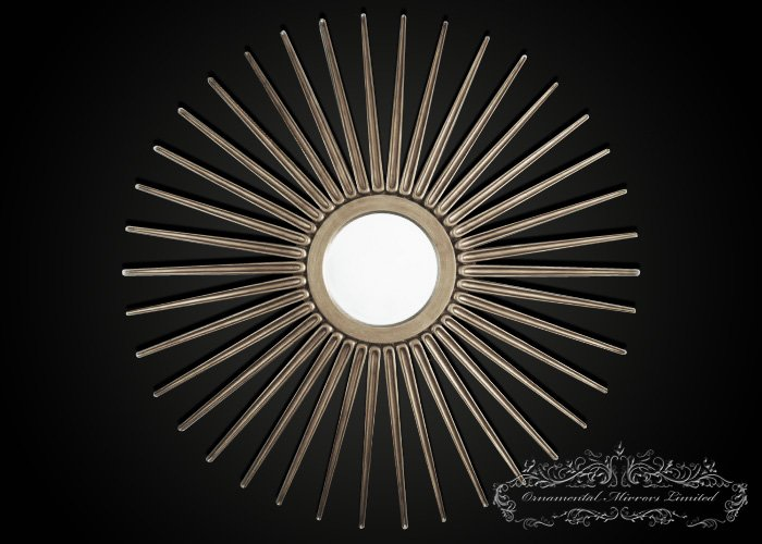 Silver Starburst Mirror Large Starburst Mirror