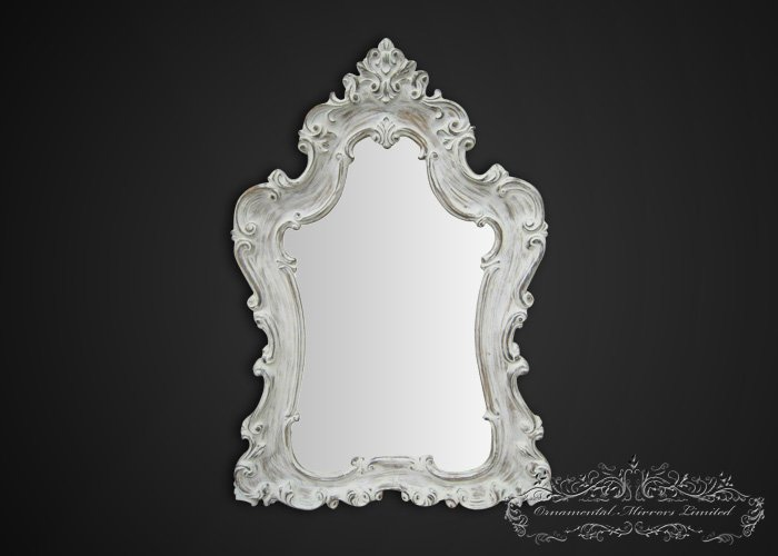 large white shabby chic mirror large shabby chic mirror. Black Bedroom Furniture Sets. Home Design Ideas